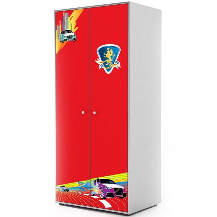 Шкаф 2-х дверный Grifon Style R800 Красный<br>