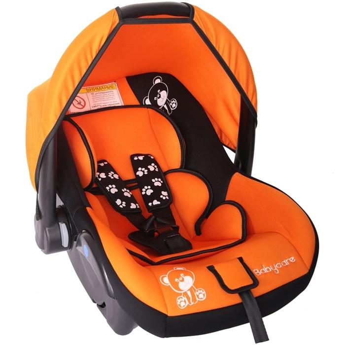 Автокресло Baby Care BC-321 Люкс Мишка Оранжевый<br>