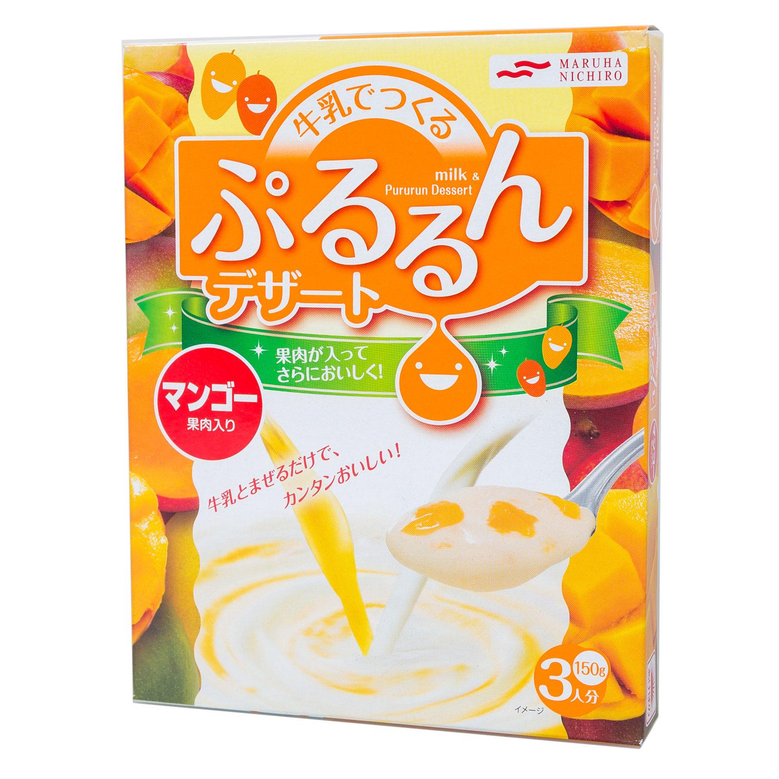 Смесь Maruha Nichiro для молочного десерта 150 гр С кусочками манго (с 3 лет)<br>