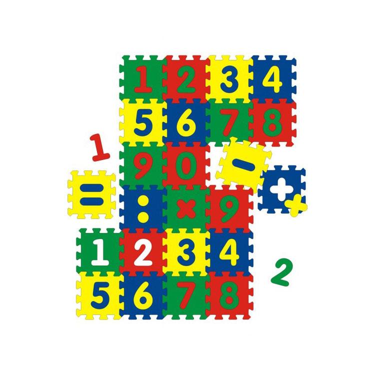 Коврик Флексика С цифрами (24 детали)<br>