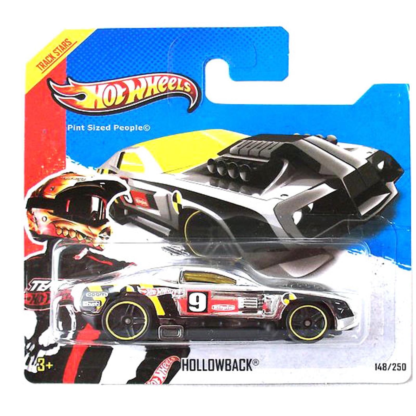 Мотогонщики Hot Wheels для треков Hollowback