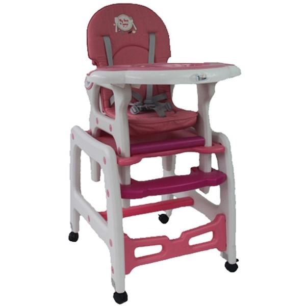 Стул + стол трансформер Tizo HC-223 Розовый<br>
