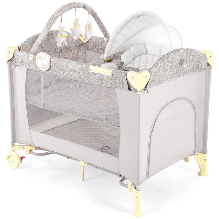 Кровать-манеж Happy Baby Lagoon V2 Бежевый<br>