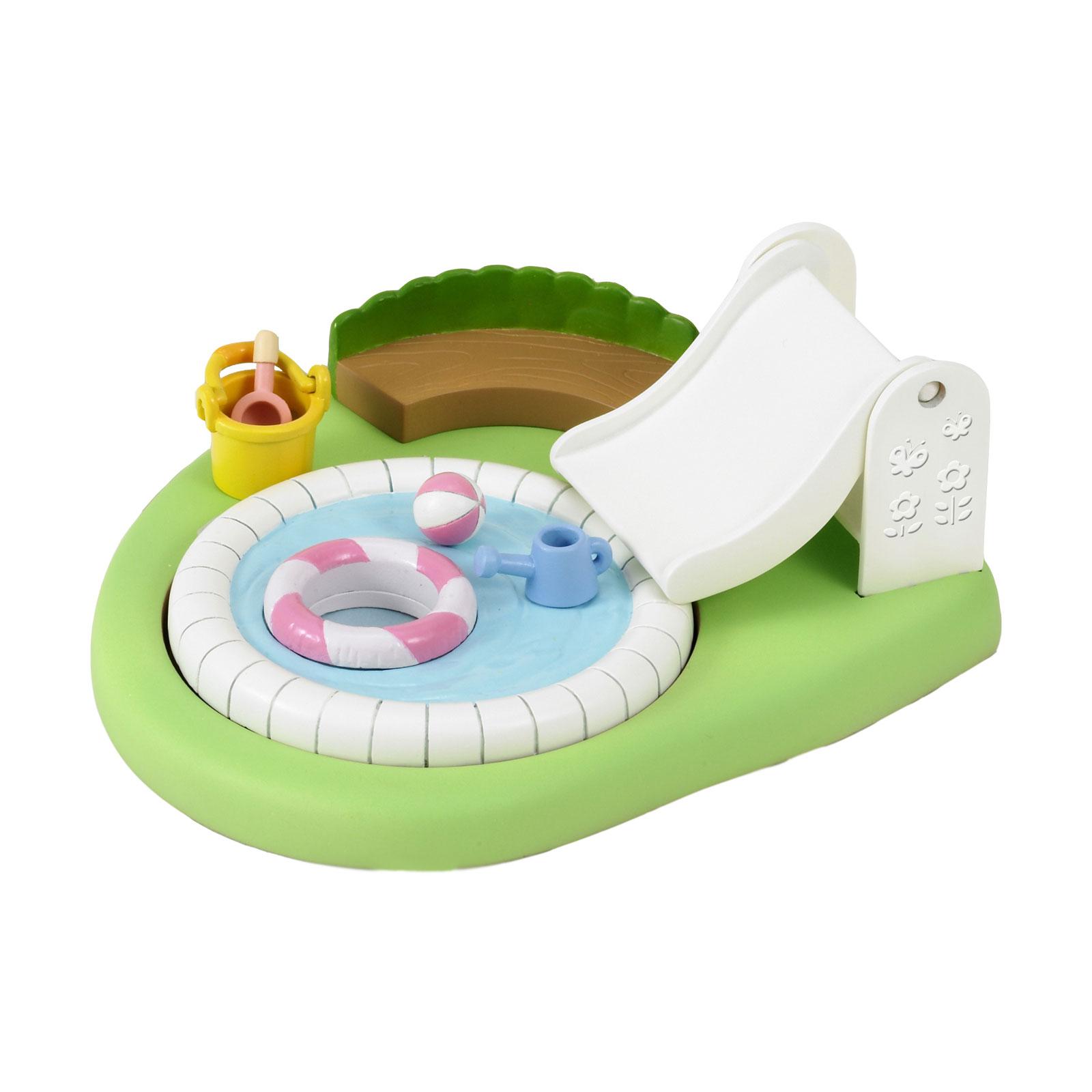 Игровой набор Sylvanian Families Бассейн и песочница для малышей<br>