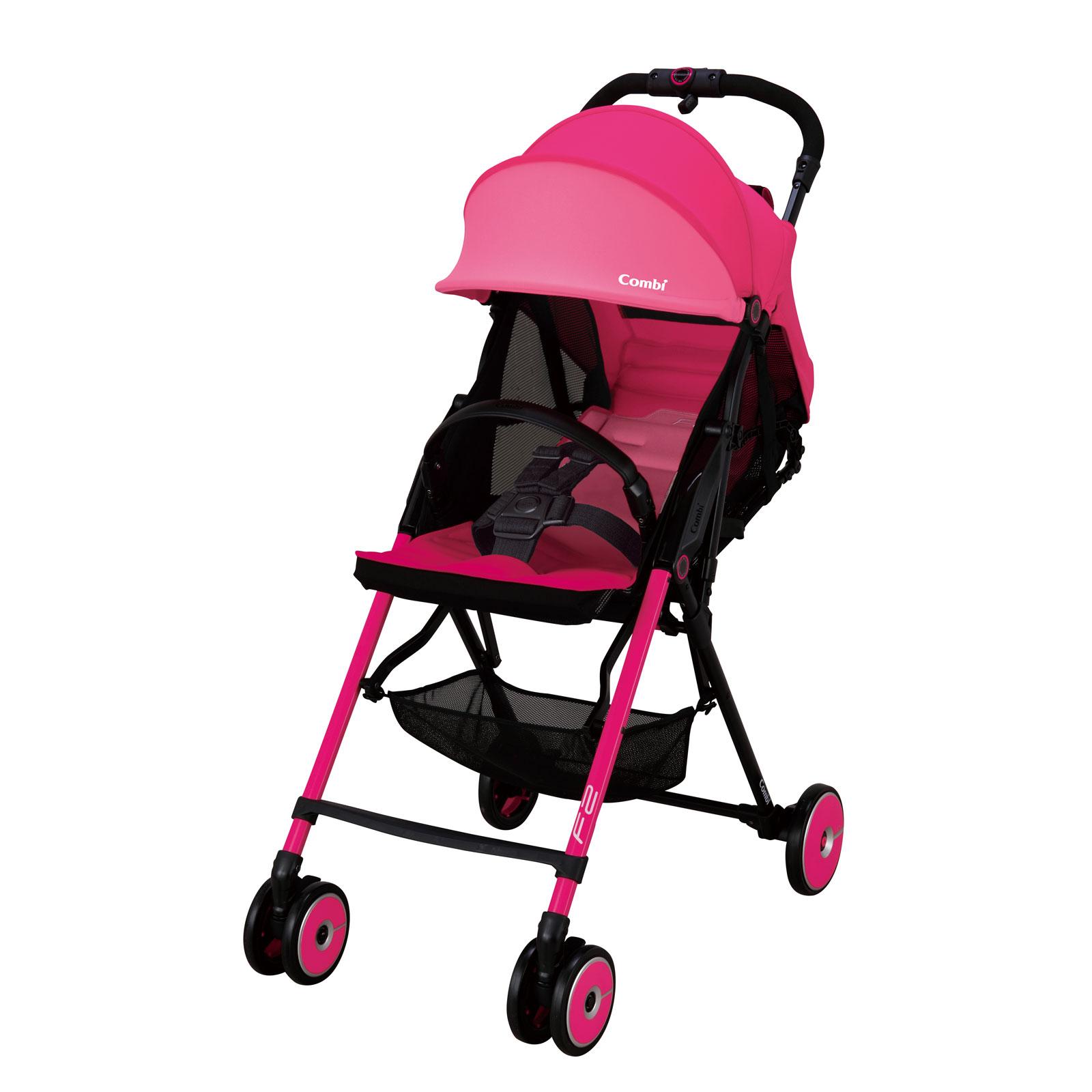 Коляска Combi F2 Plus Model 2016 Розовый<br>