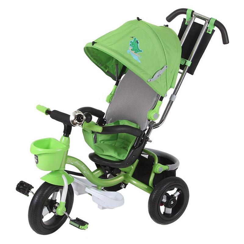 Велосипед трехколесный Mini Trike Animals Sport Крокодильчик Зеленый<br>