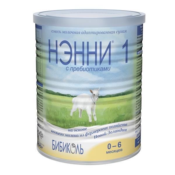 Заменитель Нэнни на основе козьего молока 400 гр №1 (с 0 до 6 мес)<br>
