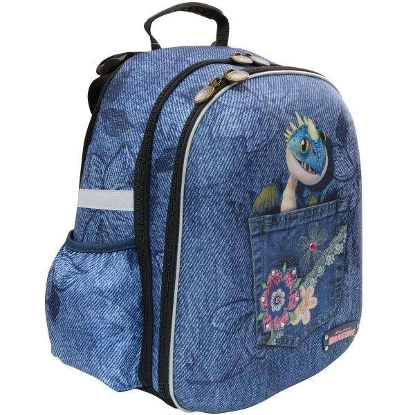 Рюкзак школьный ACTION! КАК ПРИРУЧИТЬ ДРАКОНА-2 Для девочек