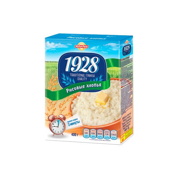 Хлопья Myllyn Paras Рисовые (с 12 мес) 400 гр<br>