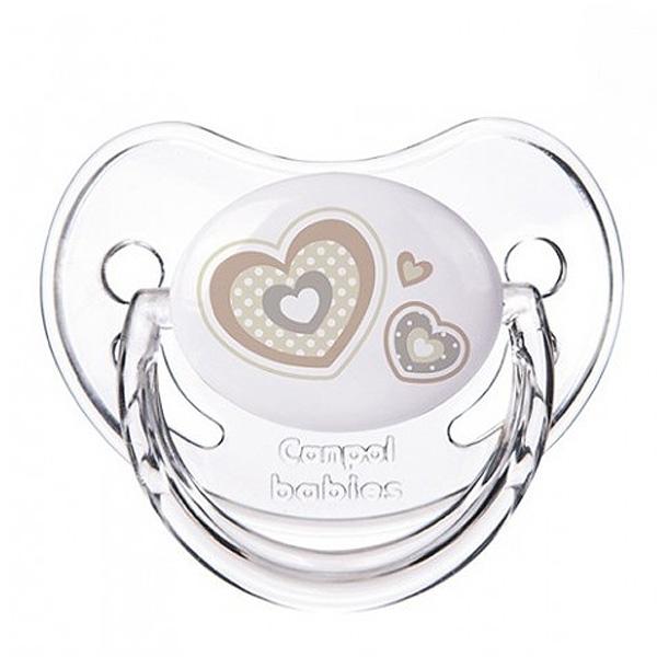 Пустышка Canpol Babies Newborn baby Анатомическая силиконовая (с 6 мес)<br>