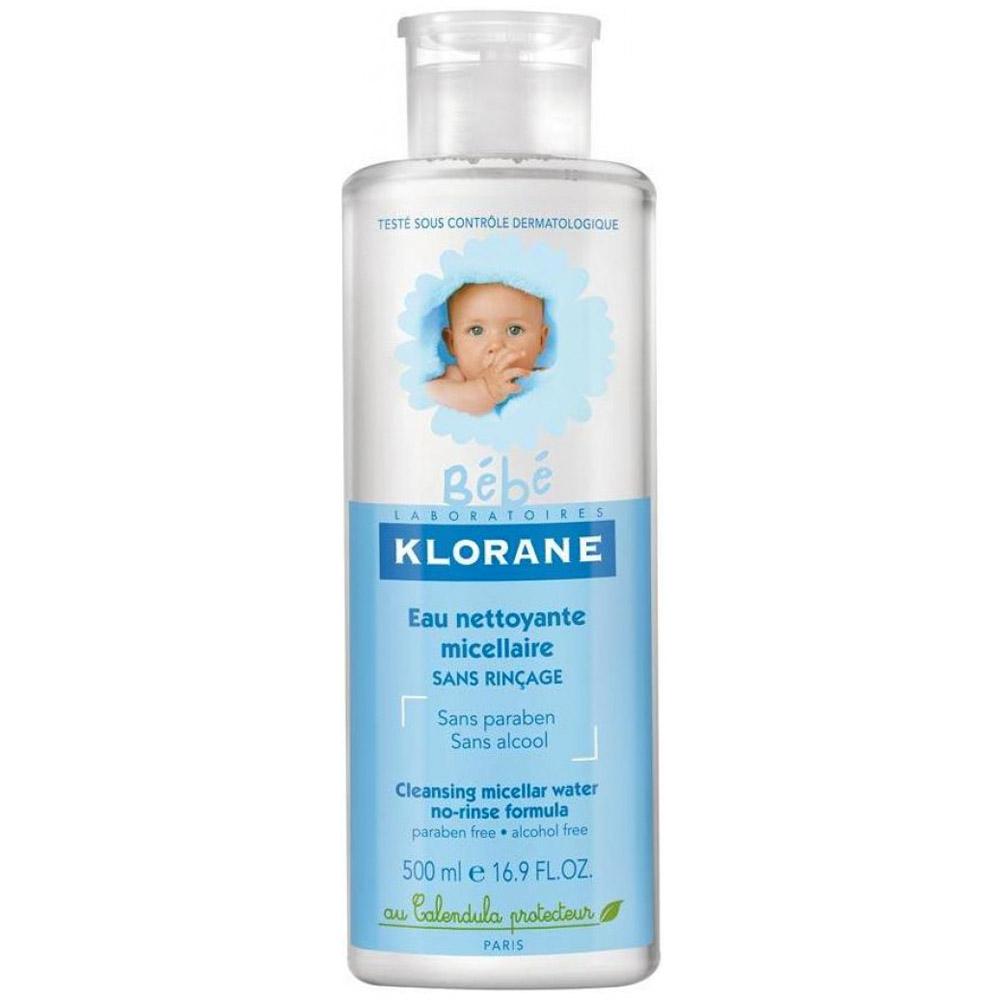 Мицеллярная вода Klorane Bebe 500 мл очищающая<br>