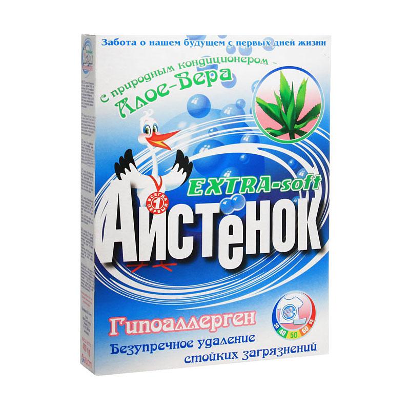 Стиральный порошок Аистенок 400 гр. автомат Soft Алое<br>