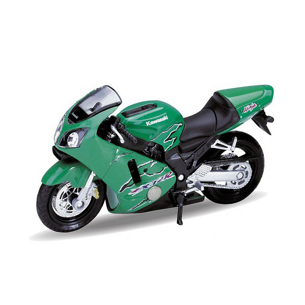 Мотоцикл Welly MOTORCYCLE / KAWASAKI 2001 NINJA  ZX-12R 1:18<br>