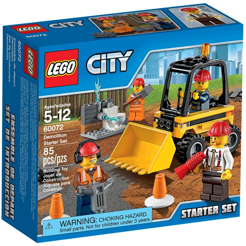 Конструктор LEGO City 60072 Набор для начинающих Строительная команда<br>