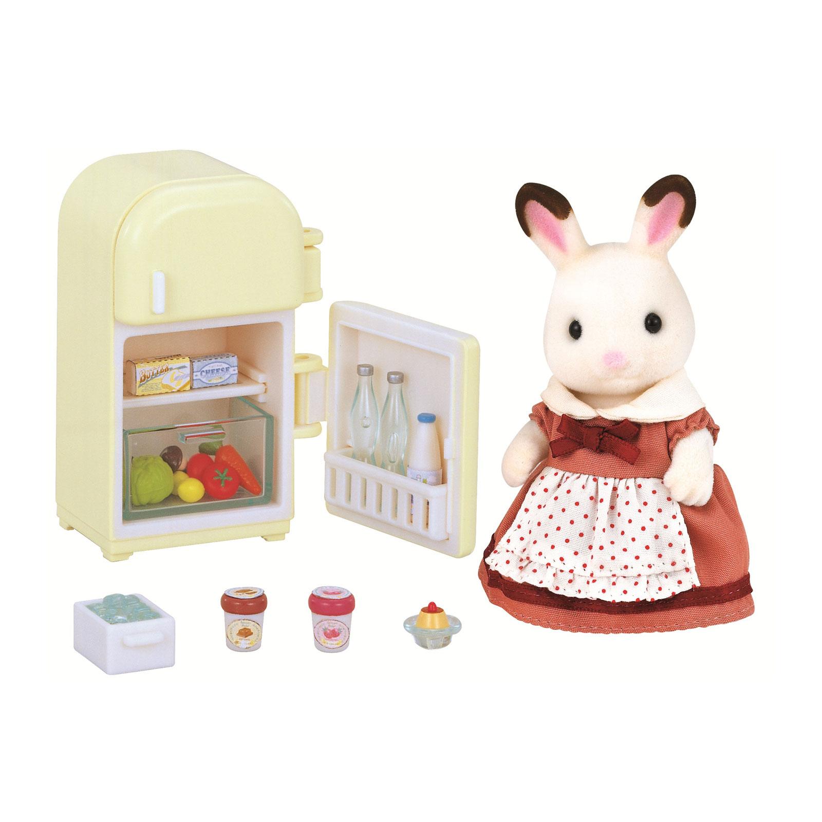Игровой набор Sylvanian Families Мама кролик и холодильник<br>
