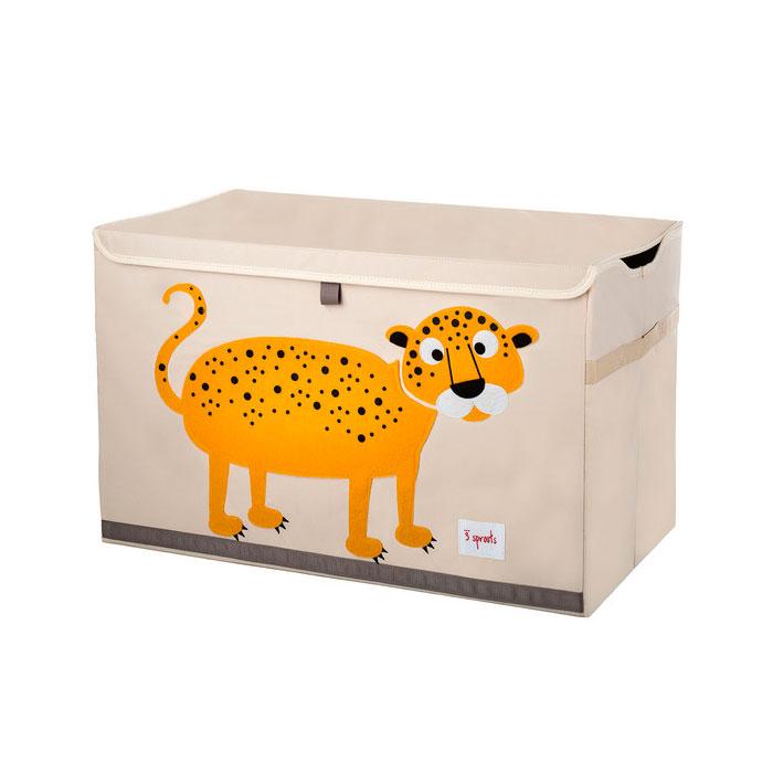 Сундук для хранения игрушек 3 Sprouts Леопард (Orange Leopard) Арт. 27255<br>