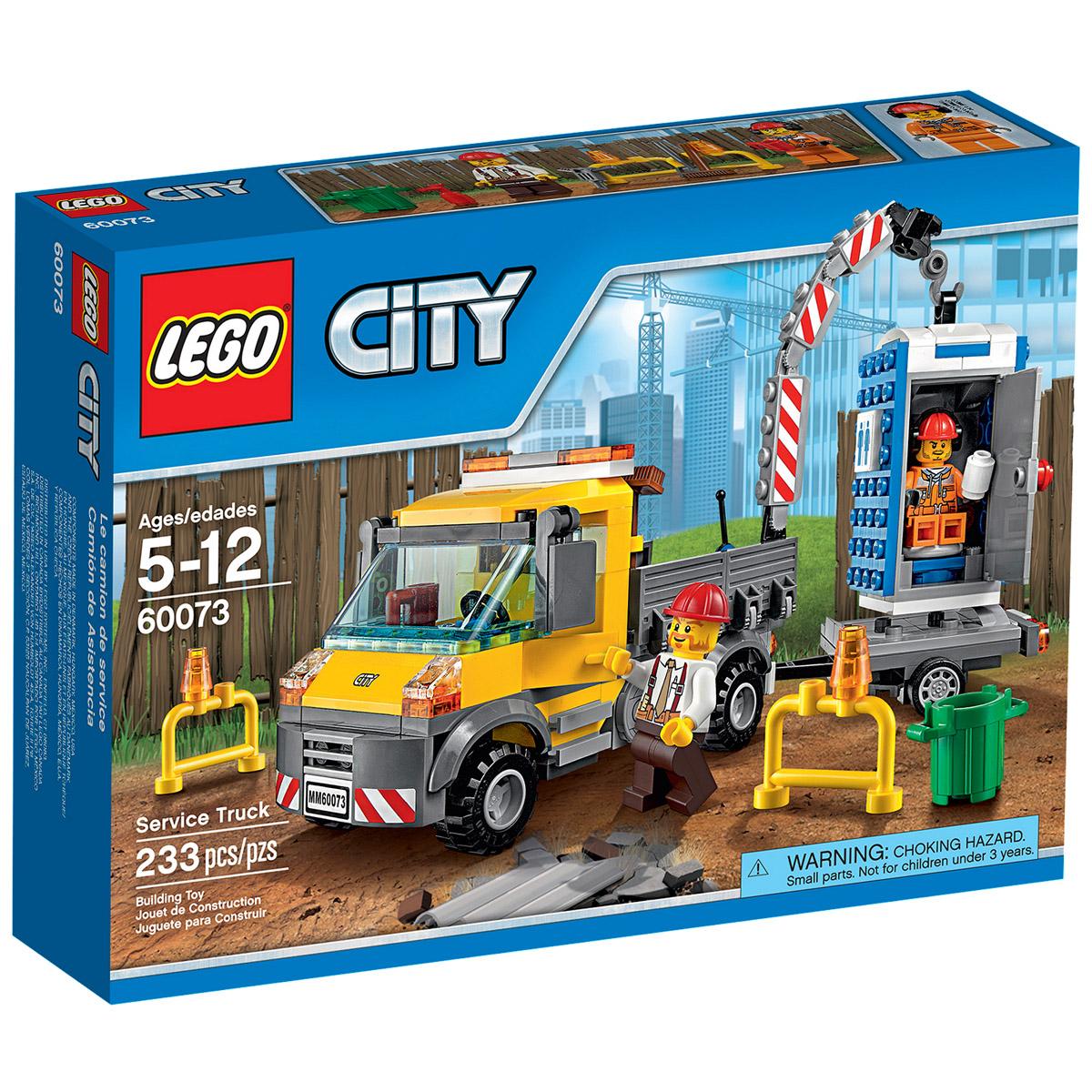 Конструктор LEGO City 60073 Машина техобслуживания<br>