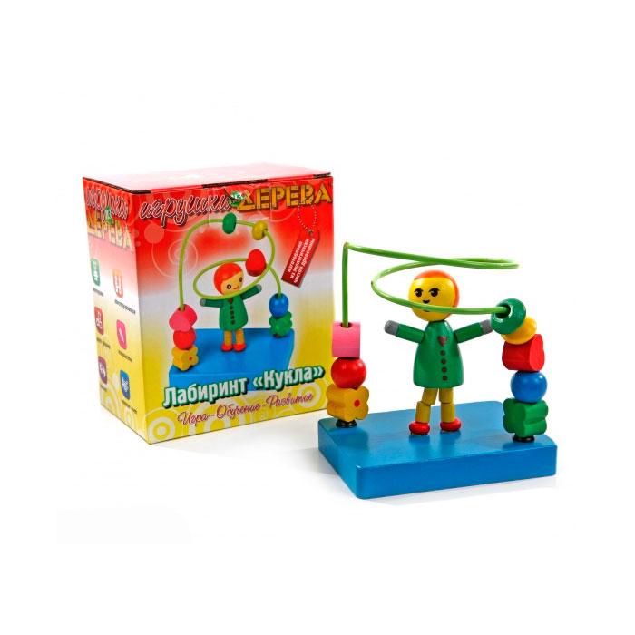 Лабиринт Деревянные игрушки Кукла