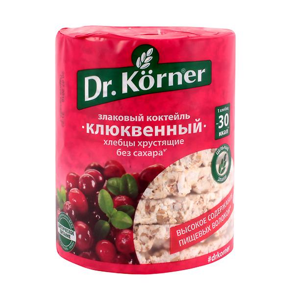 Хлебцы Dr.Korner 100 гр Клюквенные<br>