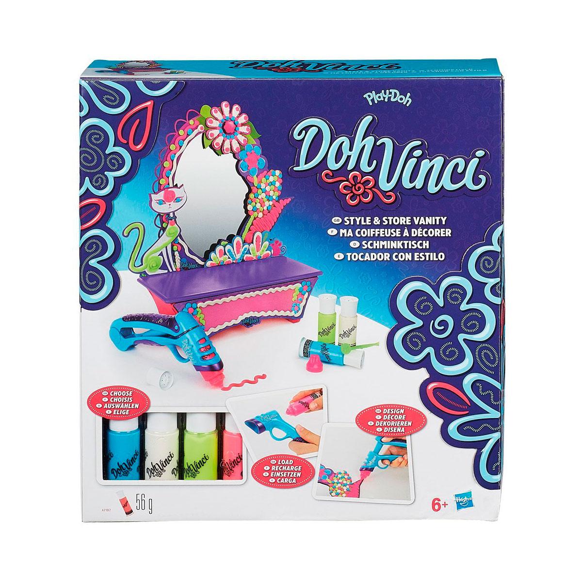 Игровой набор Play-Doh Стильный туалетный столик<br>