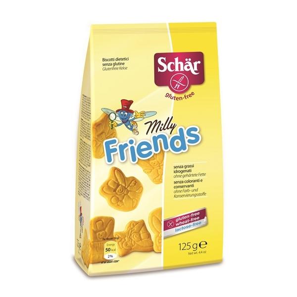 Печенье Dr. Schar Детское Milly Friends 125 гр<br>