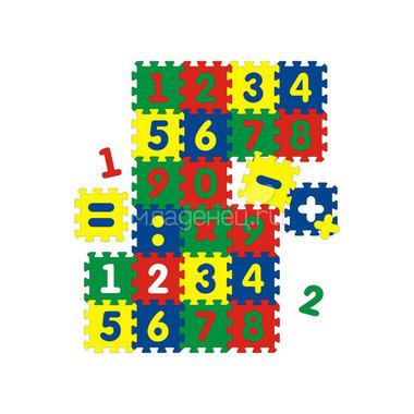 Коврик Флексика С цифрами (24 детали)
