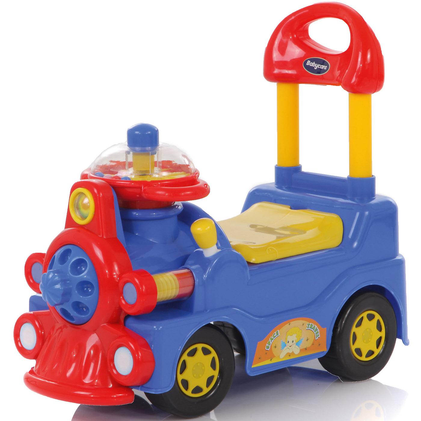 Каталка Baby Care Train Синий<br>