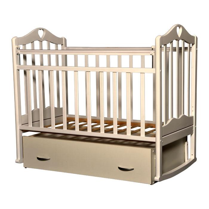Кроватка Антел Каролина-4 Слоновая кость<br>