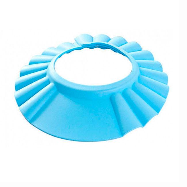 Шапочка - козырёк Bradex Купаемся без Слез для мытья головы (голубой цвет)<br>