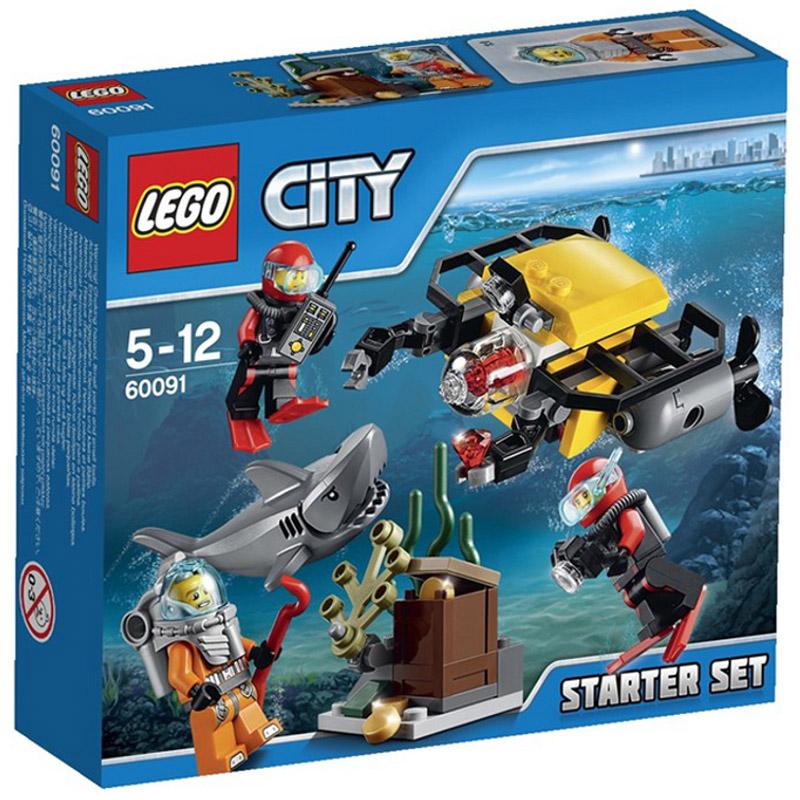 Конструктор LEGO City 60091 Исследование морских глубин<br>