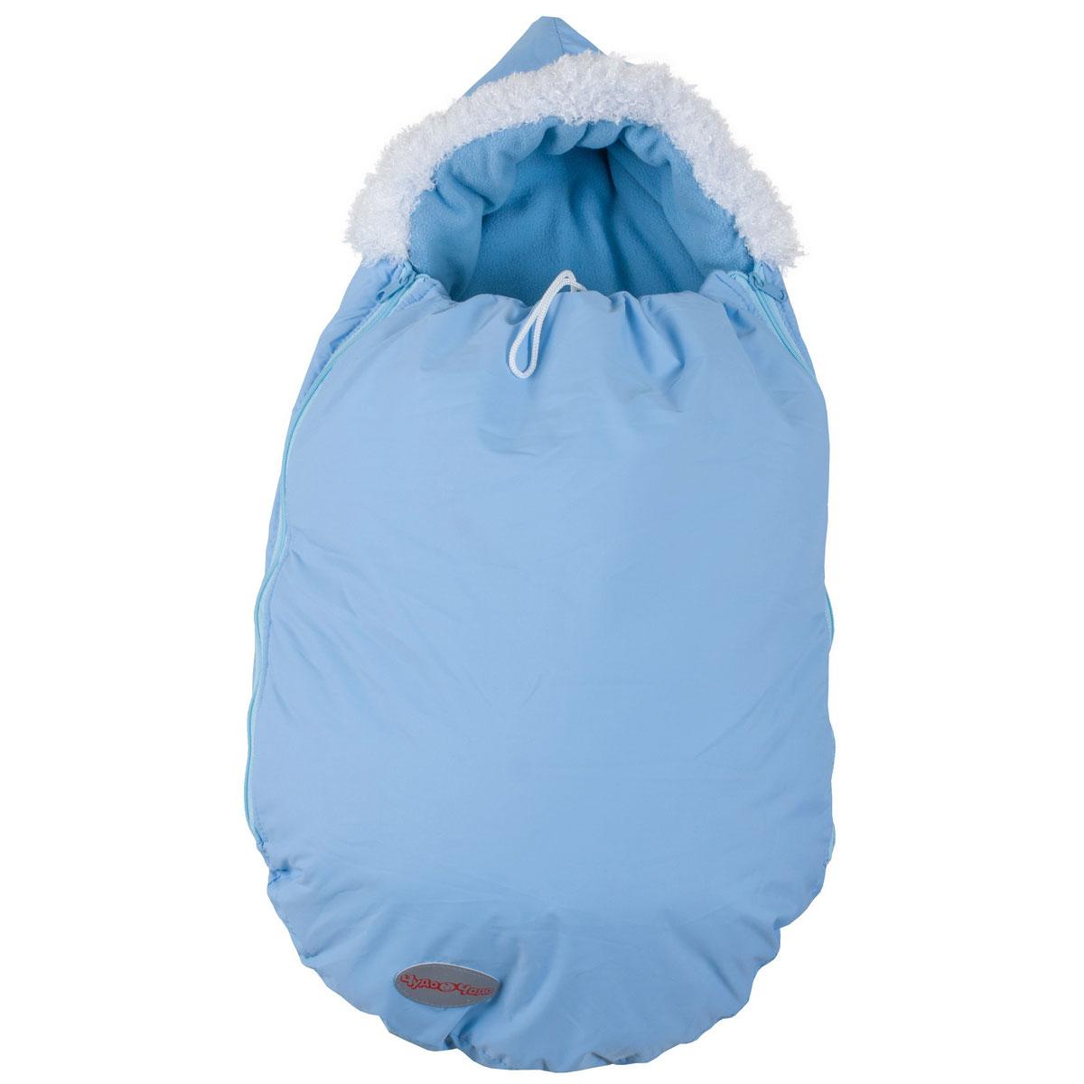 Конверт Чудо-Чадо Зимовенок для новорожденых Голубой<br>