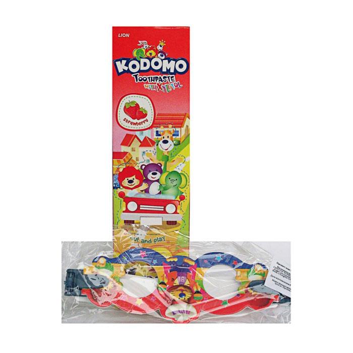 Зубная паста Kodomo Strawberry 45 гр с 6 мес + игрушка<br>