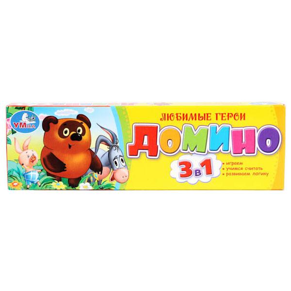 Настольная игра Умка Домино<br>