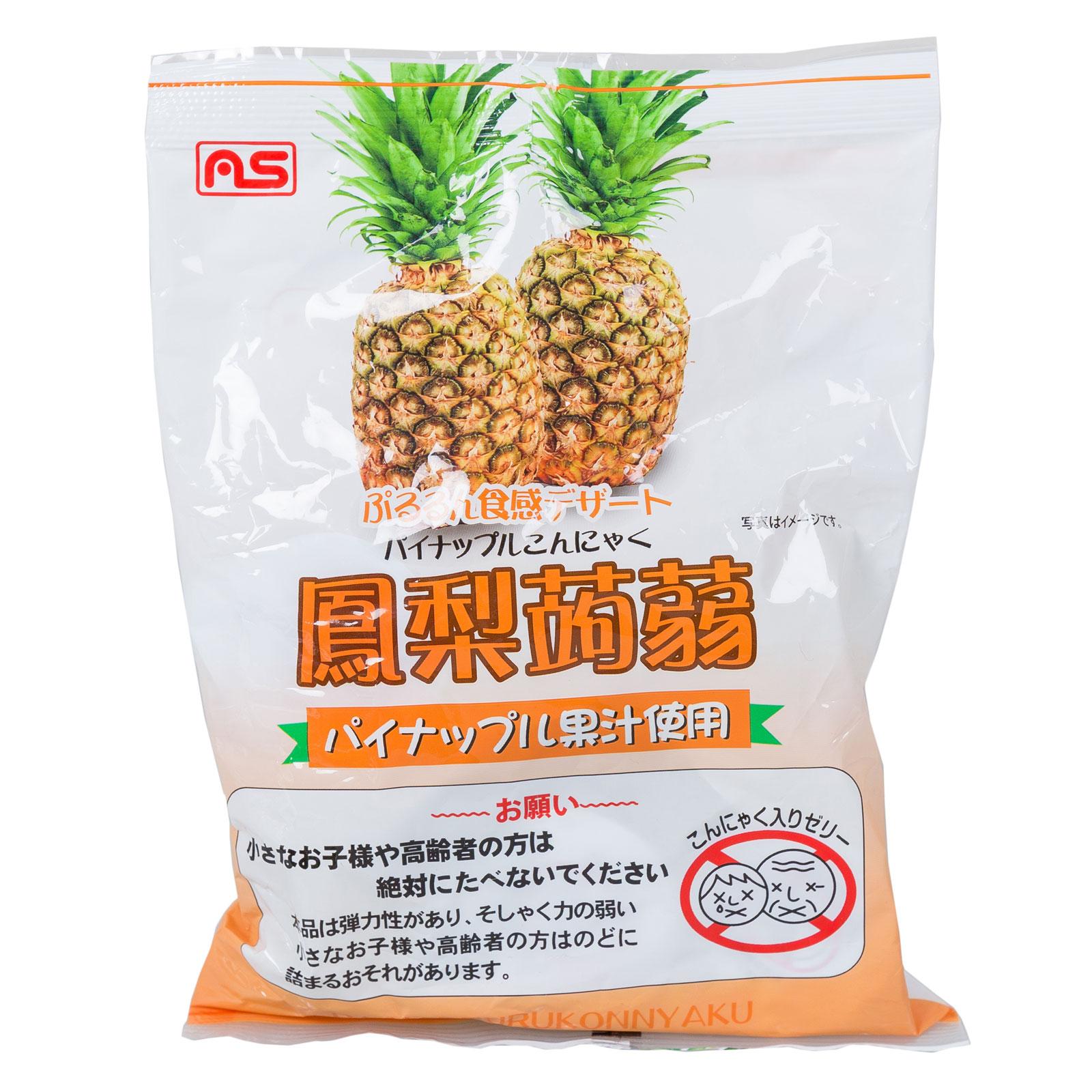 Желе AS Foods конняку 213 гр Ананас 9 порций (с 3 лет)<br>