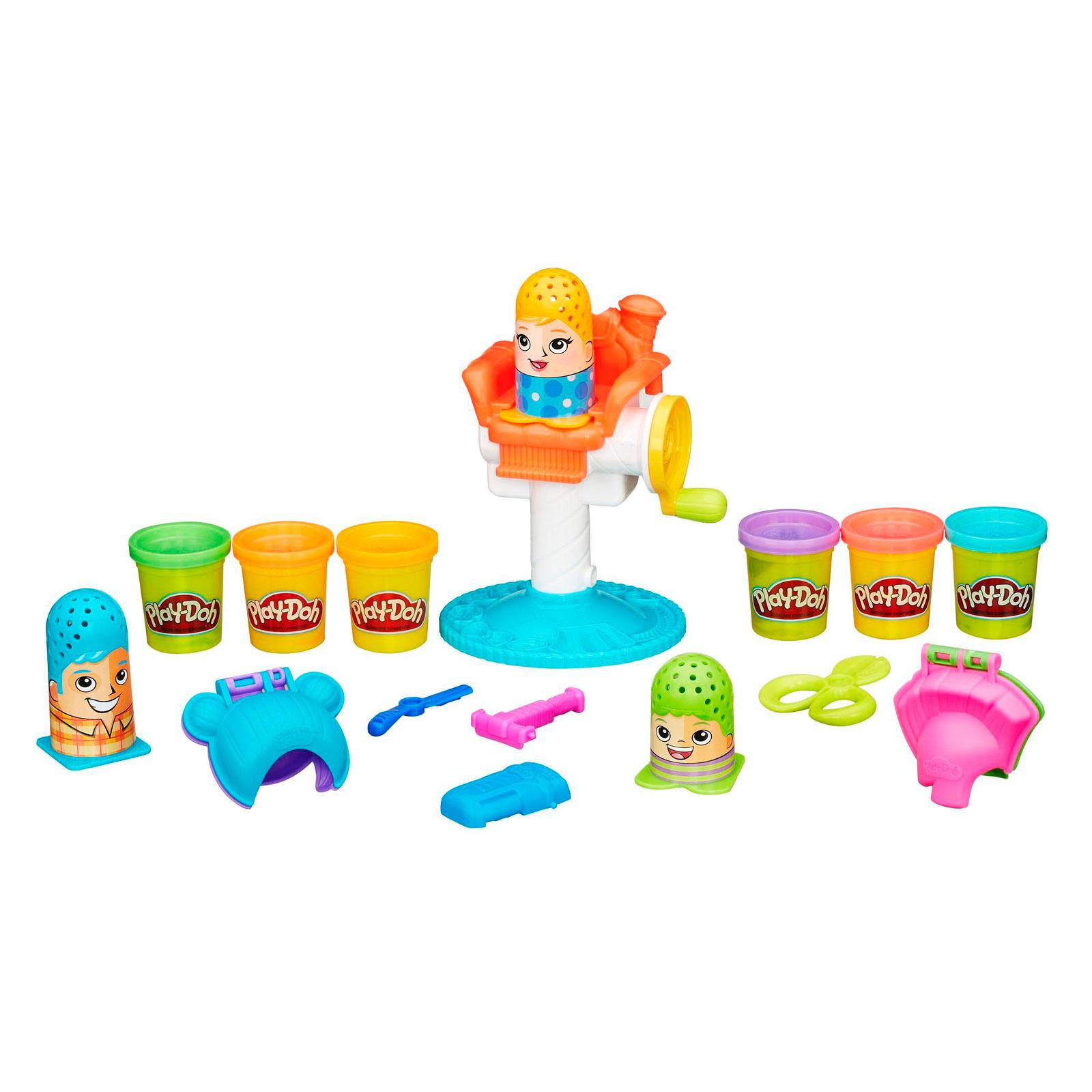 Игровой набор Play-Doh Сумасшедшие прически<br>