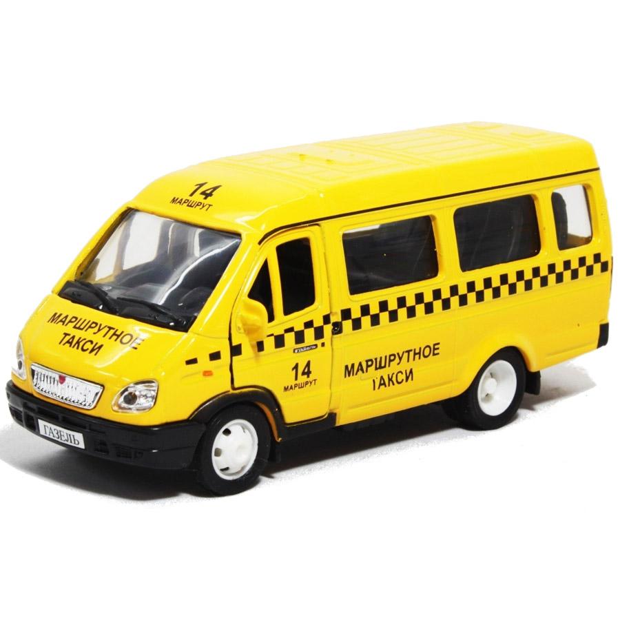 Машинка Autotime ГАЗЕЛЬ такси 1:43<br>
