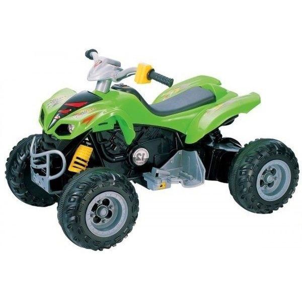 Электромобиль-квадроцикл Jetem 2-х моторный SCAT KL-789 Салатовый<br>