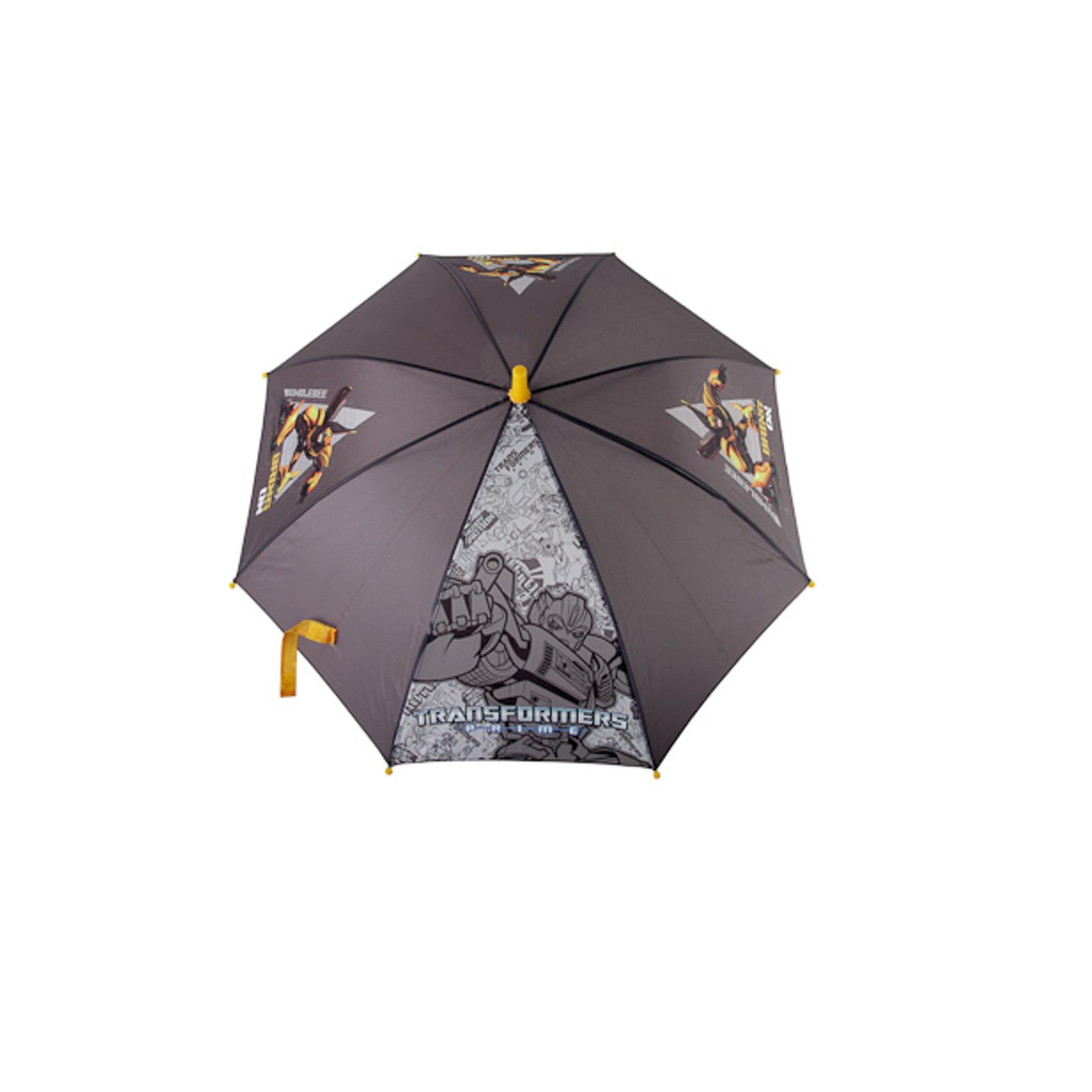Зонт Transformers с роботом Серый