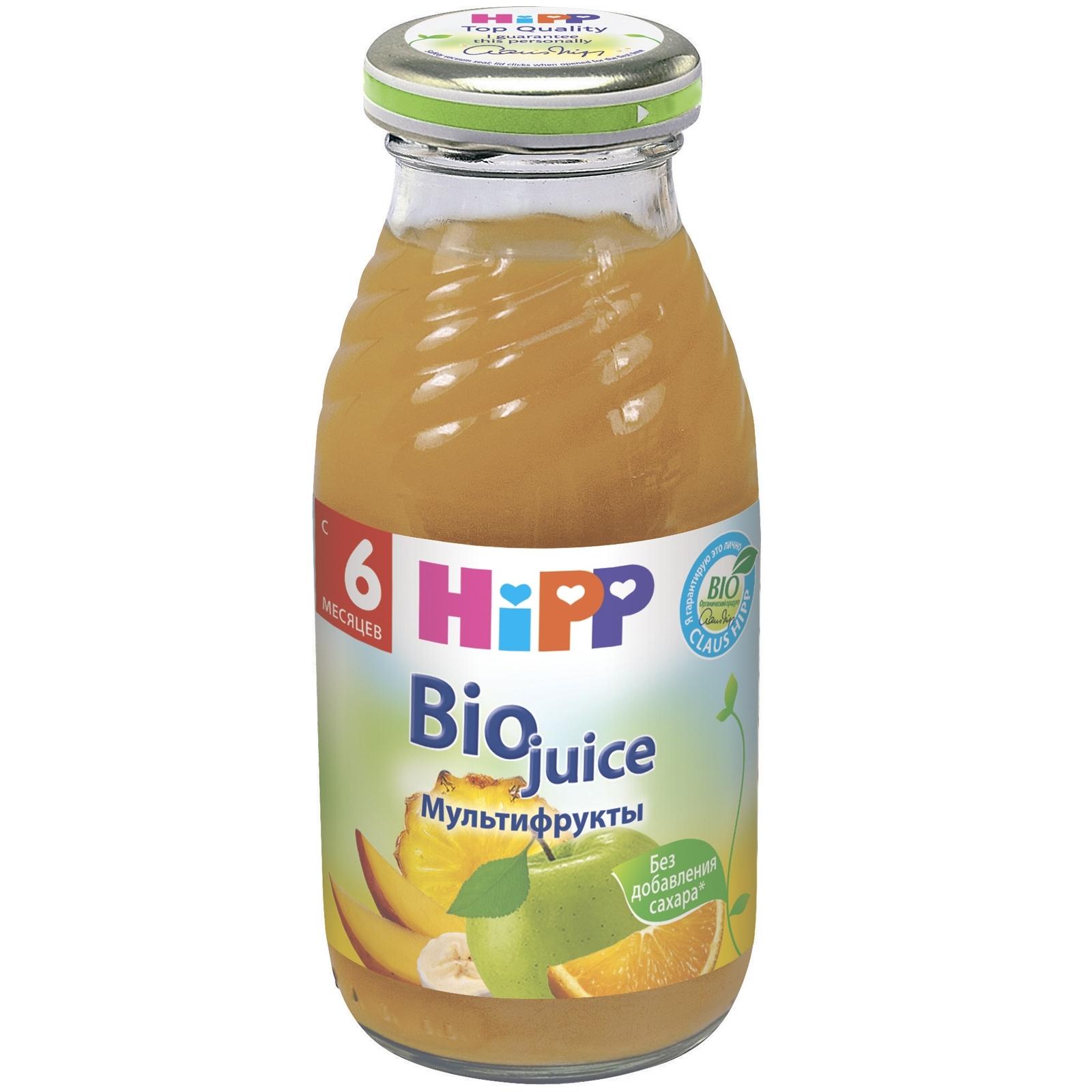 Сок Hipp 200 мл Мультивитаминный (с 6 мес)