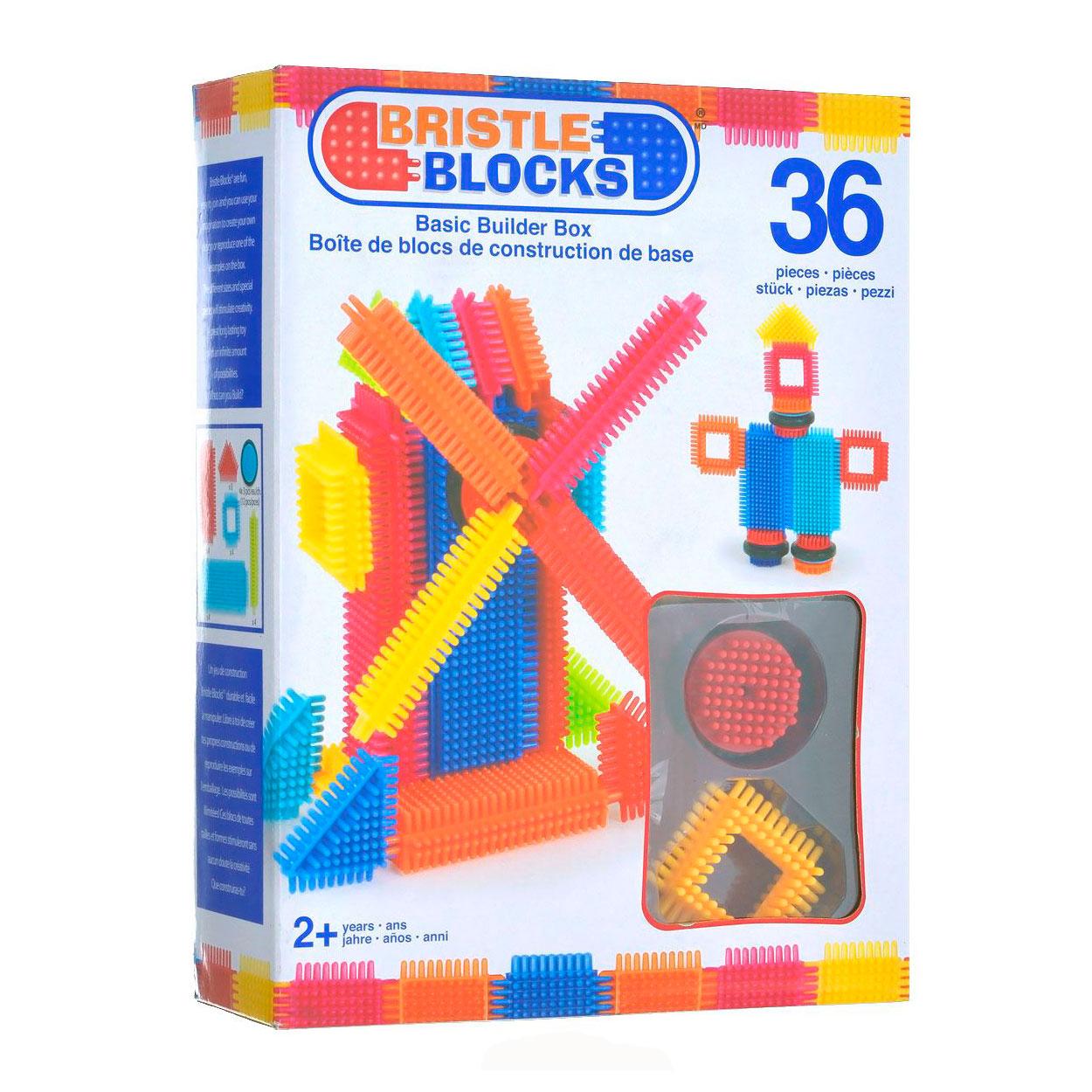 Конструктор Bristle Blocks 36 деталей в коробке<br>