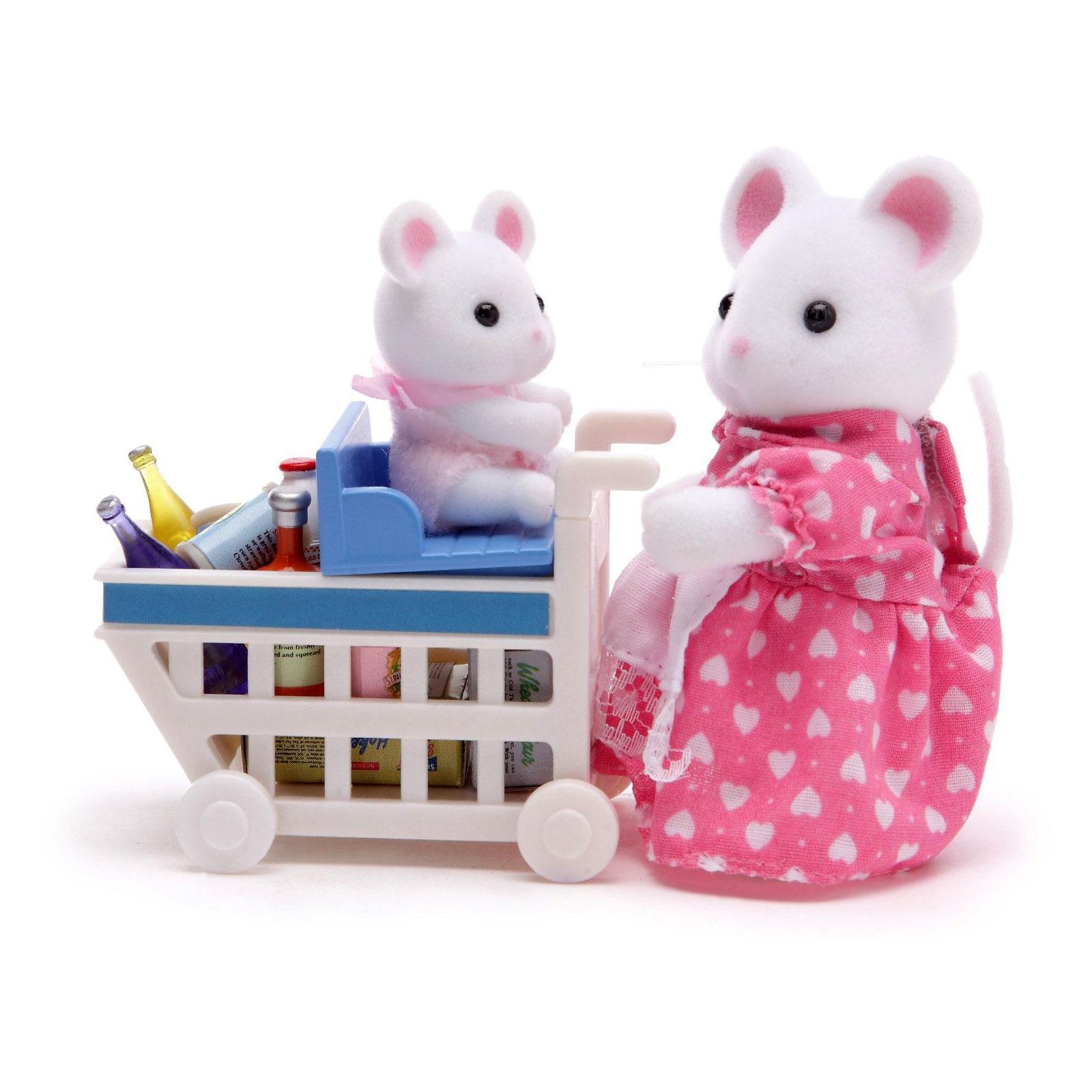 Игровой набор Sylvanian Families Покупки в бакалее<br>