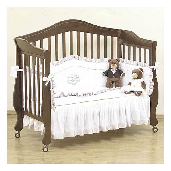 Кроватка Giovanni Belcanto Lux 120х60 см классика Caramel (GIOVANNI)