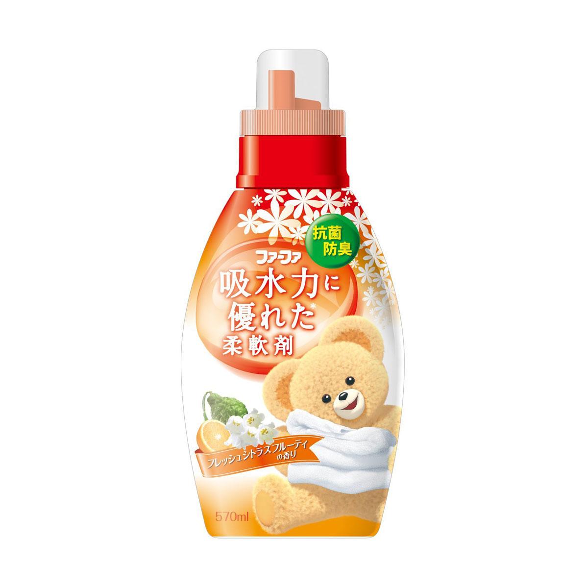 Кондиционер для детского белья Nissan FaFa Цитрусовые фрукты 570  мл (с 3 лет)<br>