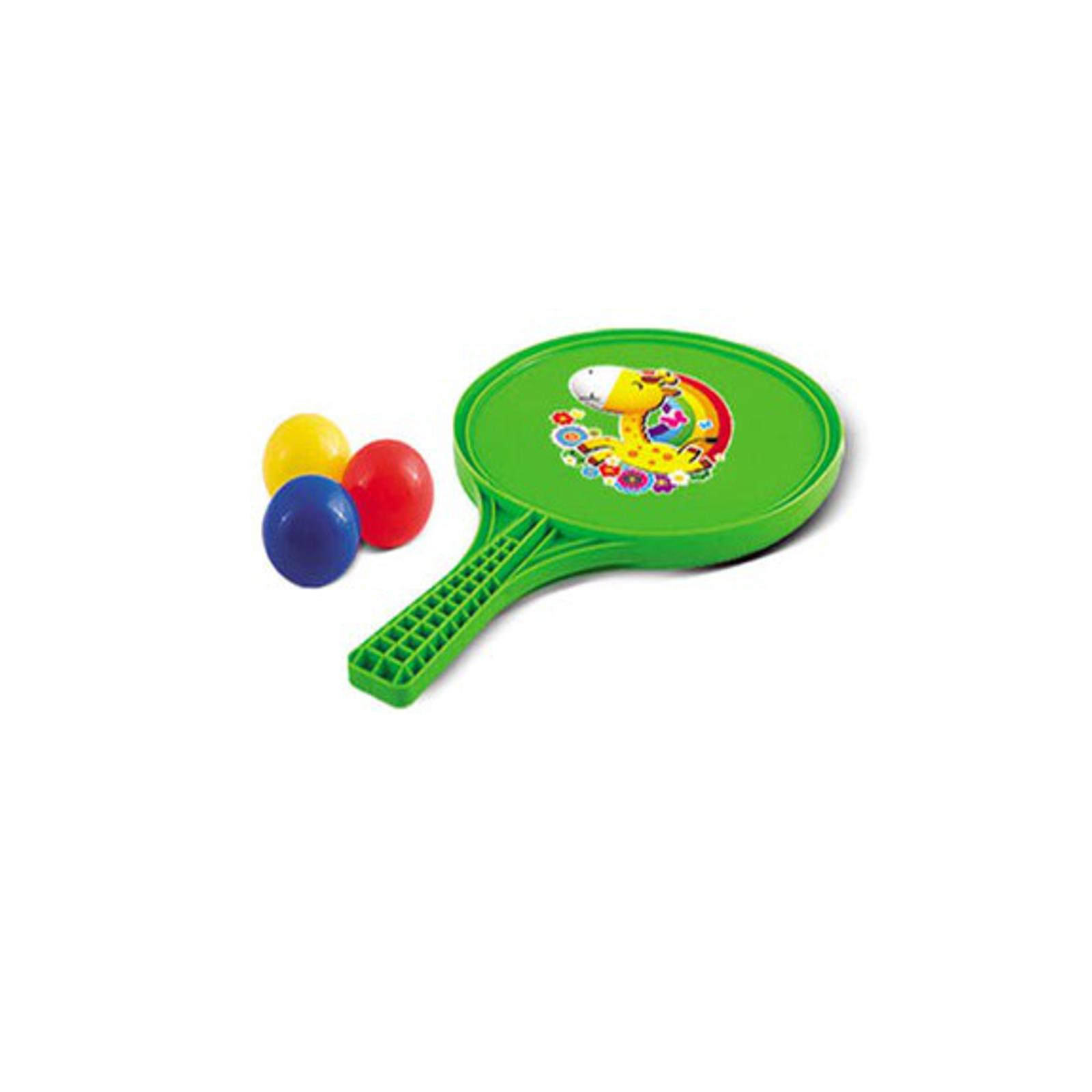 Игровой набор Нордпласт Ракетки для настольного тениса + 3 шарика<br>