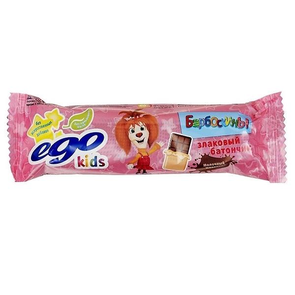 Батончик-мюсли EGO KIDS 25 гр Молочный шоколад<br>