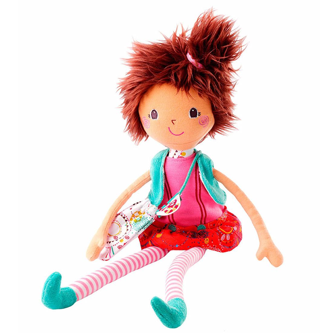 Игрушка Lilliputiens в подарочной упаковке Кукла Мона мягкая<br>