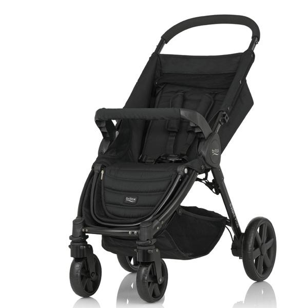 Детская коляска Britax Roemer B-Agile 4 Plus Cosmos Black<br>