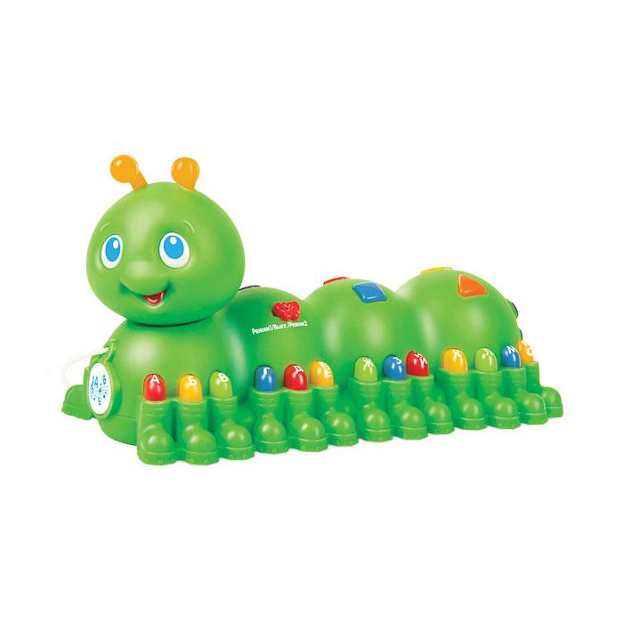 Развивающая игрушка Умка Обучающая гусеница<br>