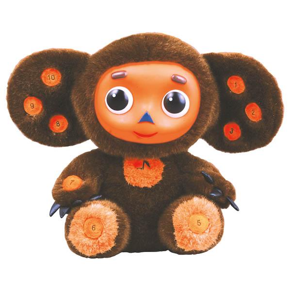 Мягкая игрушка Мульти-пульти Чебурашка учим цифры