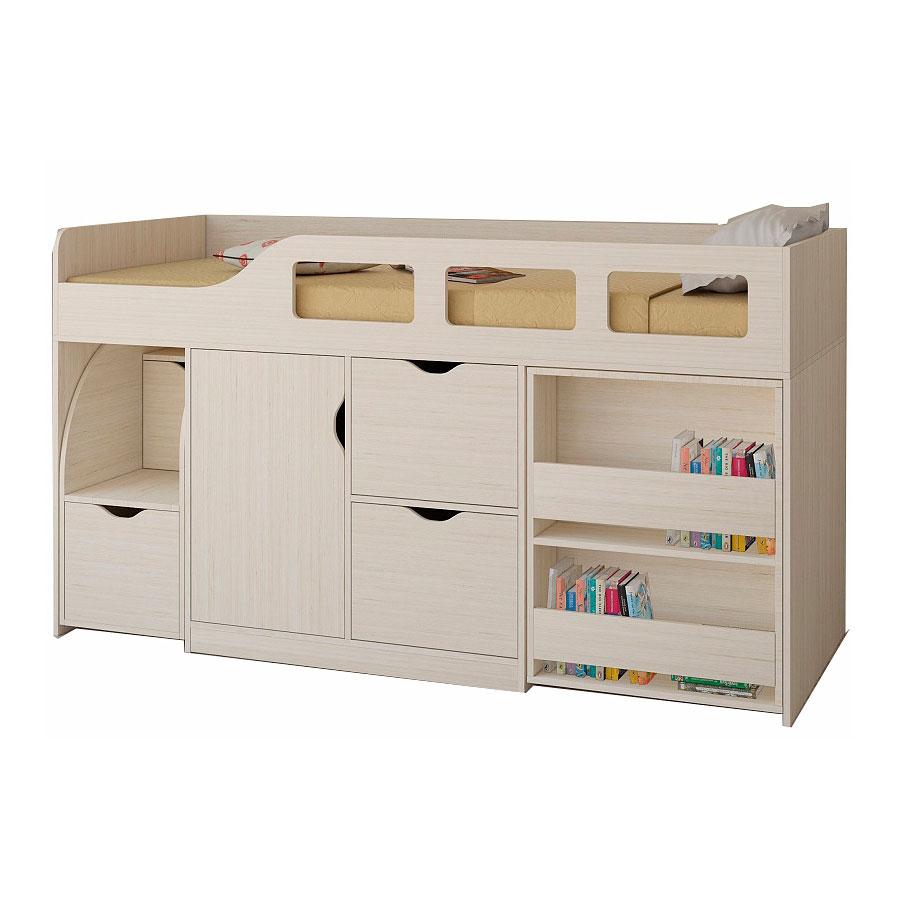 Набор мебели РВ-Мебель Астра 8 Дуб молочный<br>